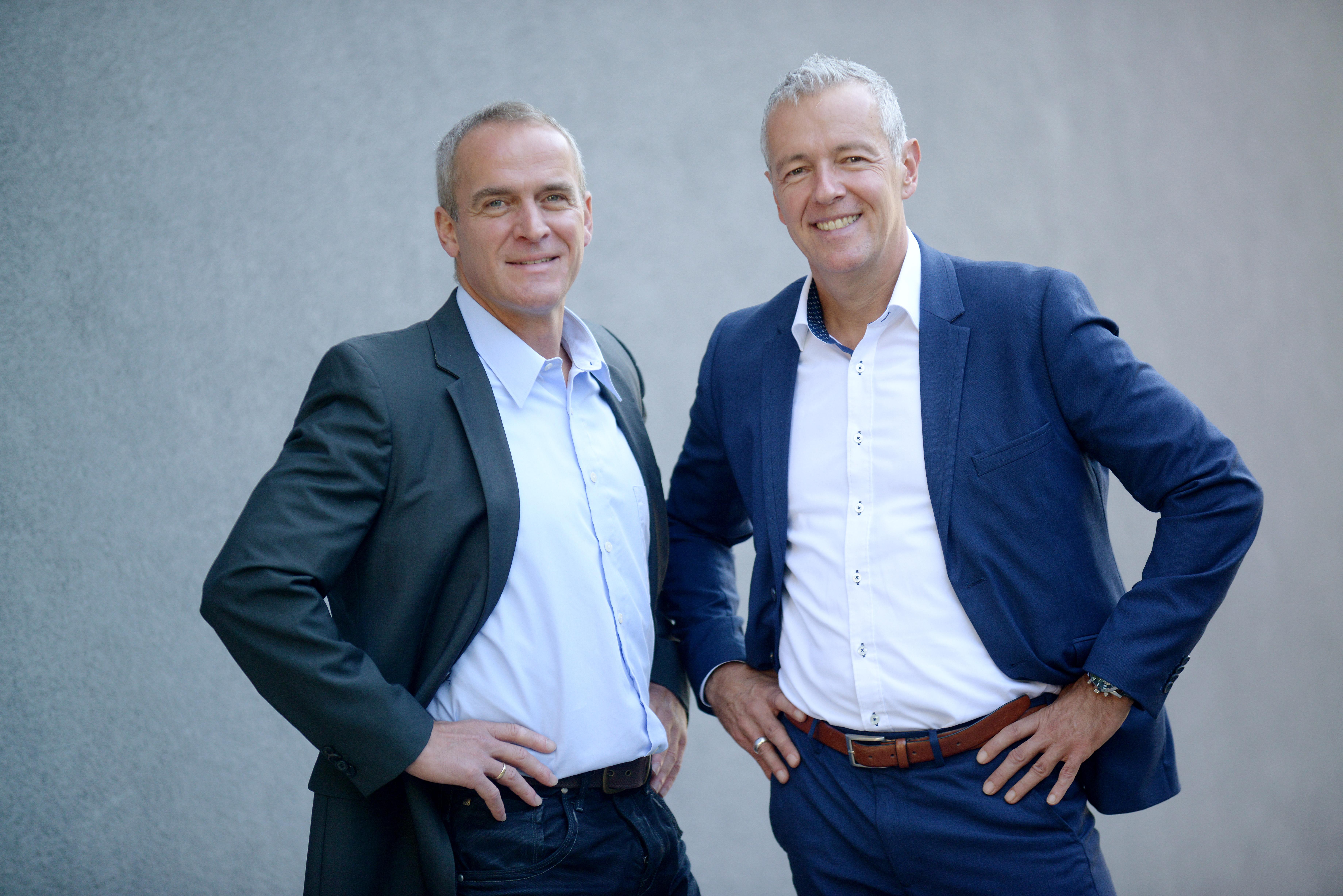 Michael Feißt und Klaus Daniel